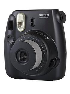 fuji-instax-mini-8-black-instant-camera-including-10-shots
