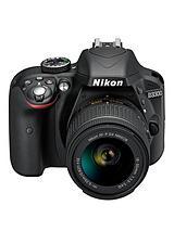 D3300 24.2 Megapixel Digital Camera with 18-55 mm Non-VR Lens