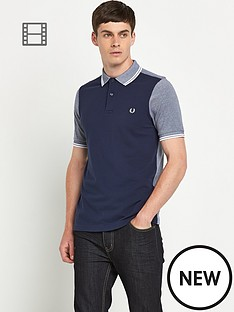 fred-perry-mens-colour-block-polo-shirt