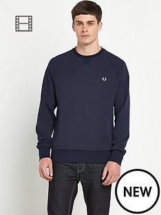 fred-perry-mens-crew-neck-sweatshirt
