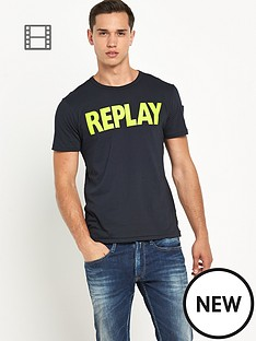 replay-mens-logo-tee