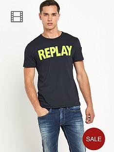 replay-mens-logo-tee