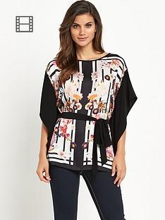 wallis-oriental-stripe-kimono