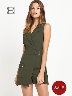 miss-selfridge-utility-playsuit
