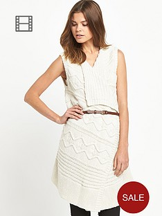 miss-selfridge-sleeveless-belted-waterfall-cardigan