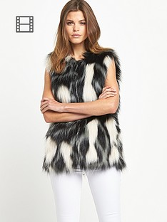 miss-selfridge-shaggy-gilet