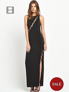 miss-selfridge-criss-cross-plunge-maxi-dress