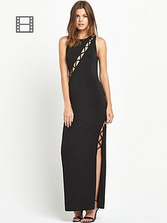 miss-selfridge-criss-cross-plunge-maxi-dress