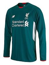 Liverpool FC Junior Away Goakeeper Long Sleeve Shirt