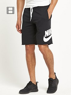 nike-aw77-mens-track-and-field-almuni-fleece-shorts