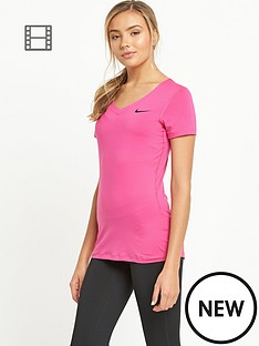 nike-pro-short-sleeve-v-neck-t-shirt