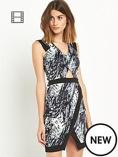 miss-selfridge-brush-stroke-bodycon-dress