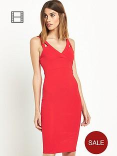 miss-selfridge-texture-rib-midi-dress