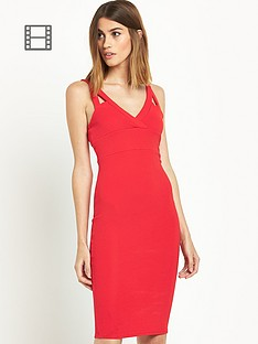 miss-selfridge-texture-rib-midi-dress