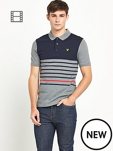 lyle-scott-mens-breton-stripe-polo-shirt-mid-grey-marl
