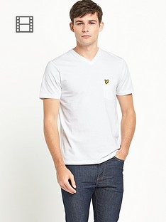 lyle-scott-mens-v-neck-pocket-t-shirt-white