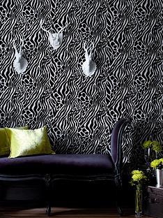 julien-macdonald-easy-tiger-wallpaper-blacksilver