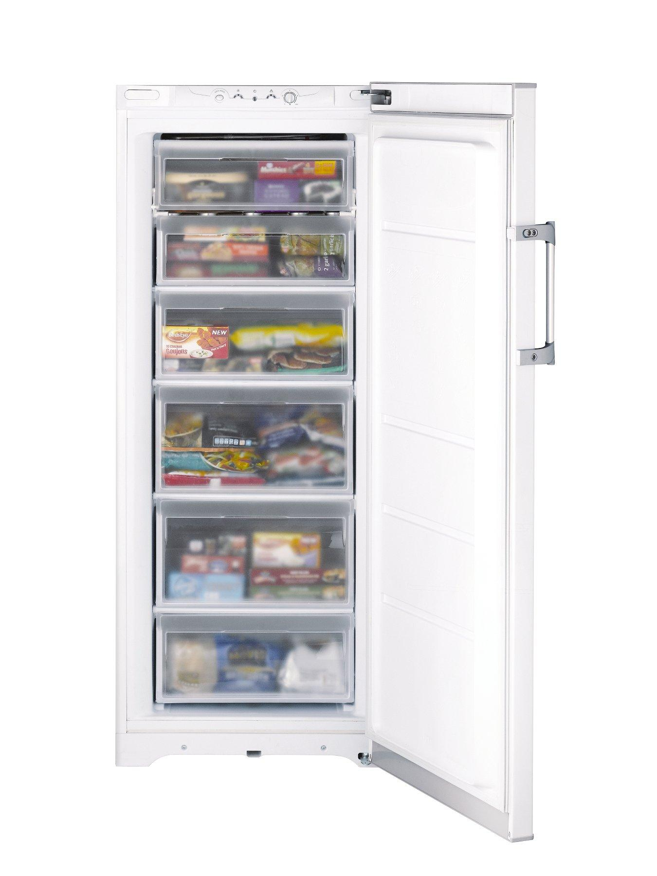 RZFM151P 60cm Tall Freezer - White