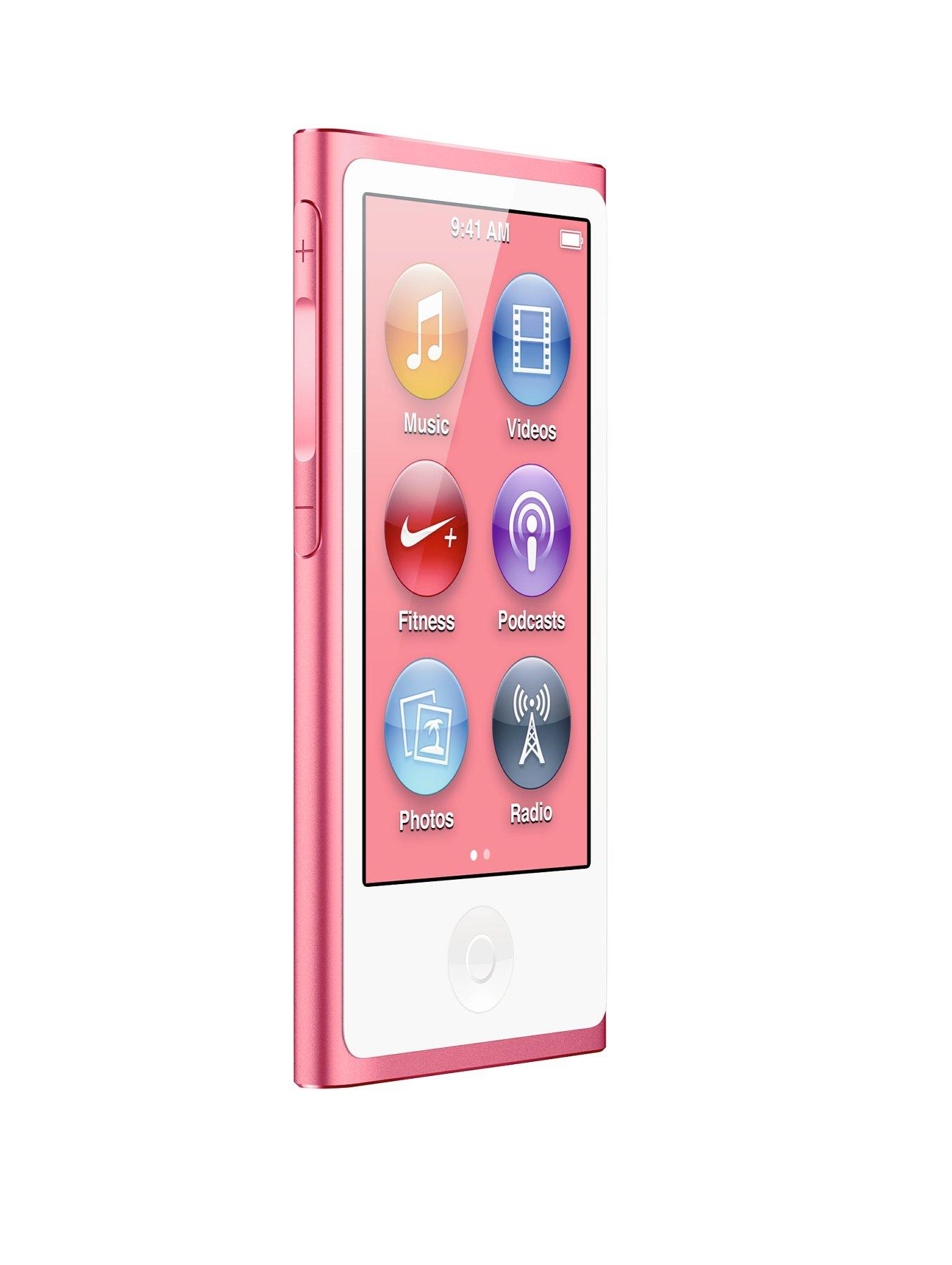 IPod nano 16Gb - Pink at Littlewoods