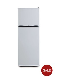 swan-essentials-ser5320w-48cm-freezer-over-fridge-next-day-delivery-white