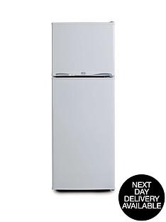swan-essentials-ser5320w-48cm-freezer-over-fridge-white-next-day-delivery