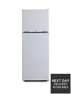 swan-essentials-ser5320w-48cm-freezer-over-fridge-white-next-day-delivery