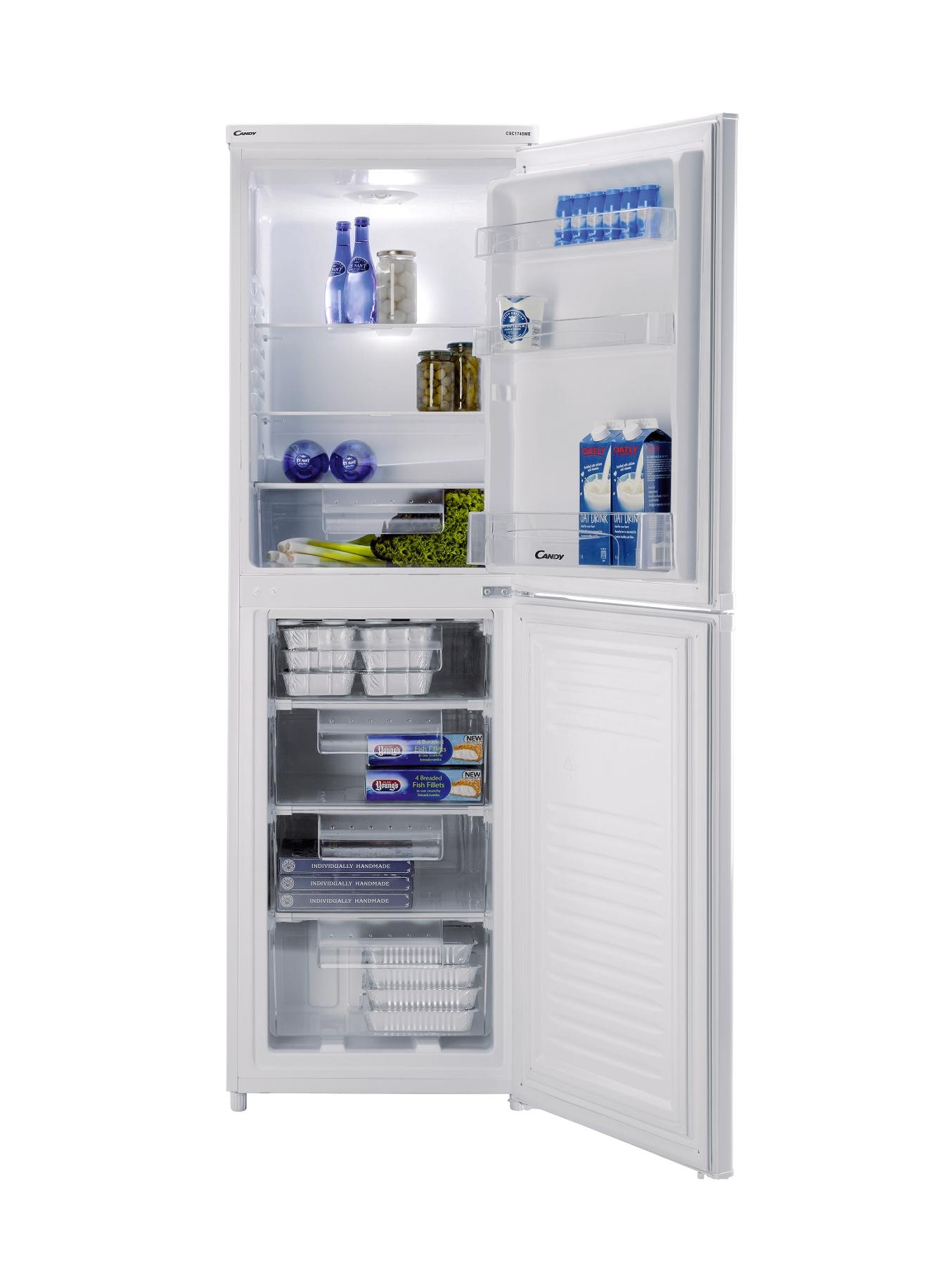 CSC1745WE 55cm Fridge Freezer - White