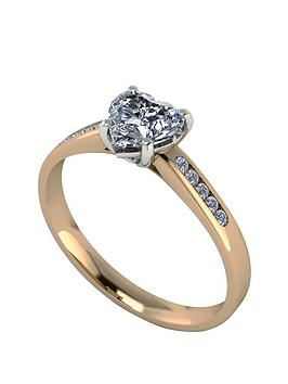 moissanite-11-carat-heart-shape-18-carat-yellow-gold-engagement-ring