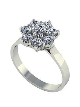 moissanite-9-carat-white-gold-1-carat-8-stone-cluster-ring