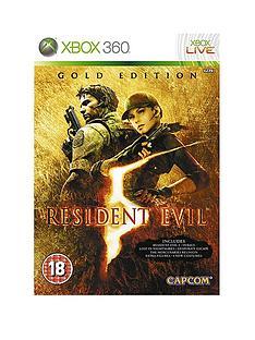 xbox-360-resident-evil-gold