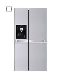 lg-gsl545nsqv-frost-free-usa-style-fridge-freezer-steel