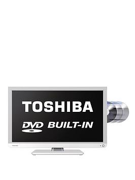 toshiba-22d1334b-22-inch-full-hd-freeview-led-tv-with-built-in-dvd-white