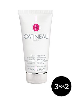 gatineau-radiance-gommage-75ml-free-gatineau-face-mask-duo-with-facial-mask-brush