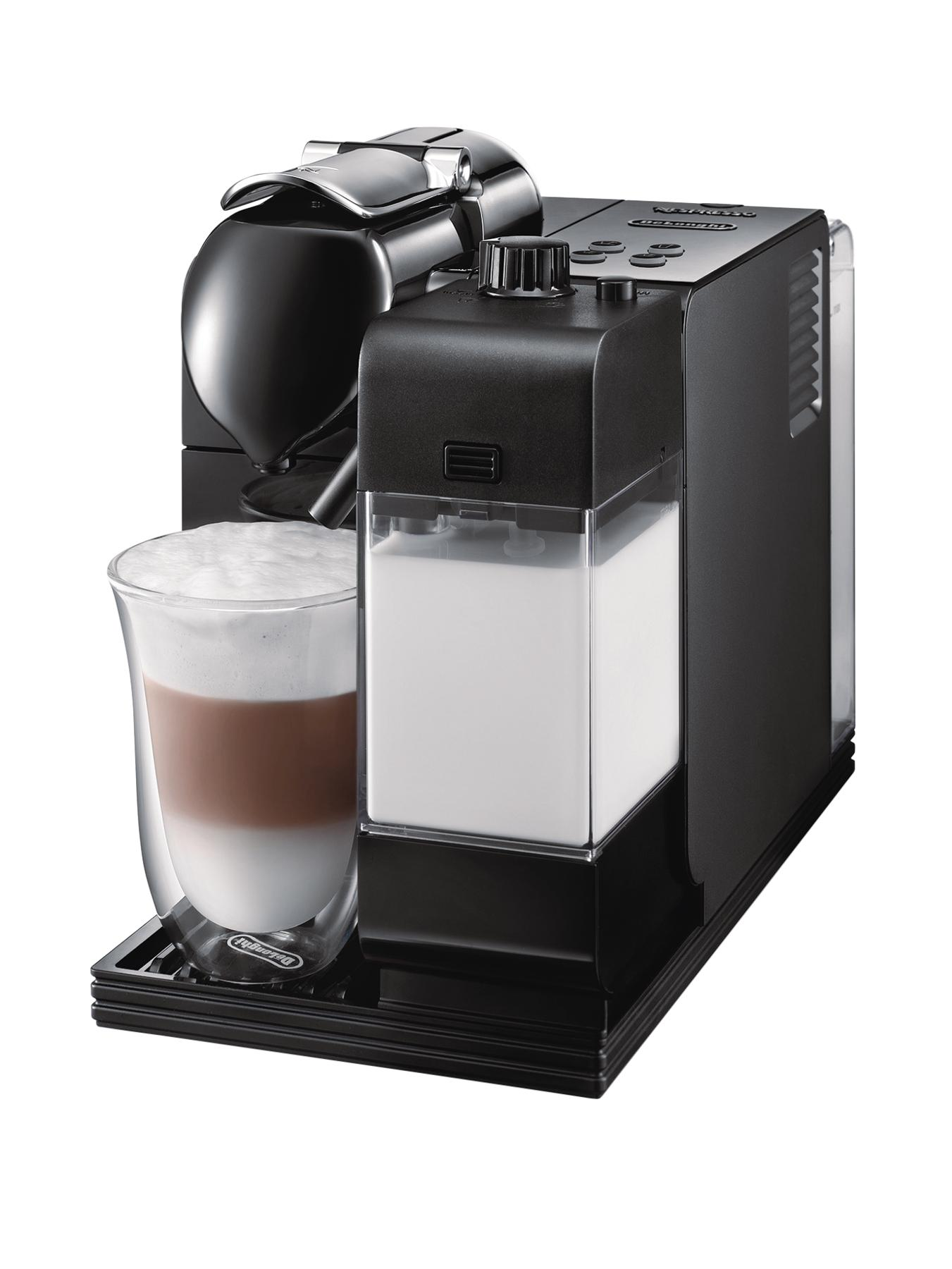EN520B Nespresso Lattissima Coffee Machine - Black