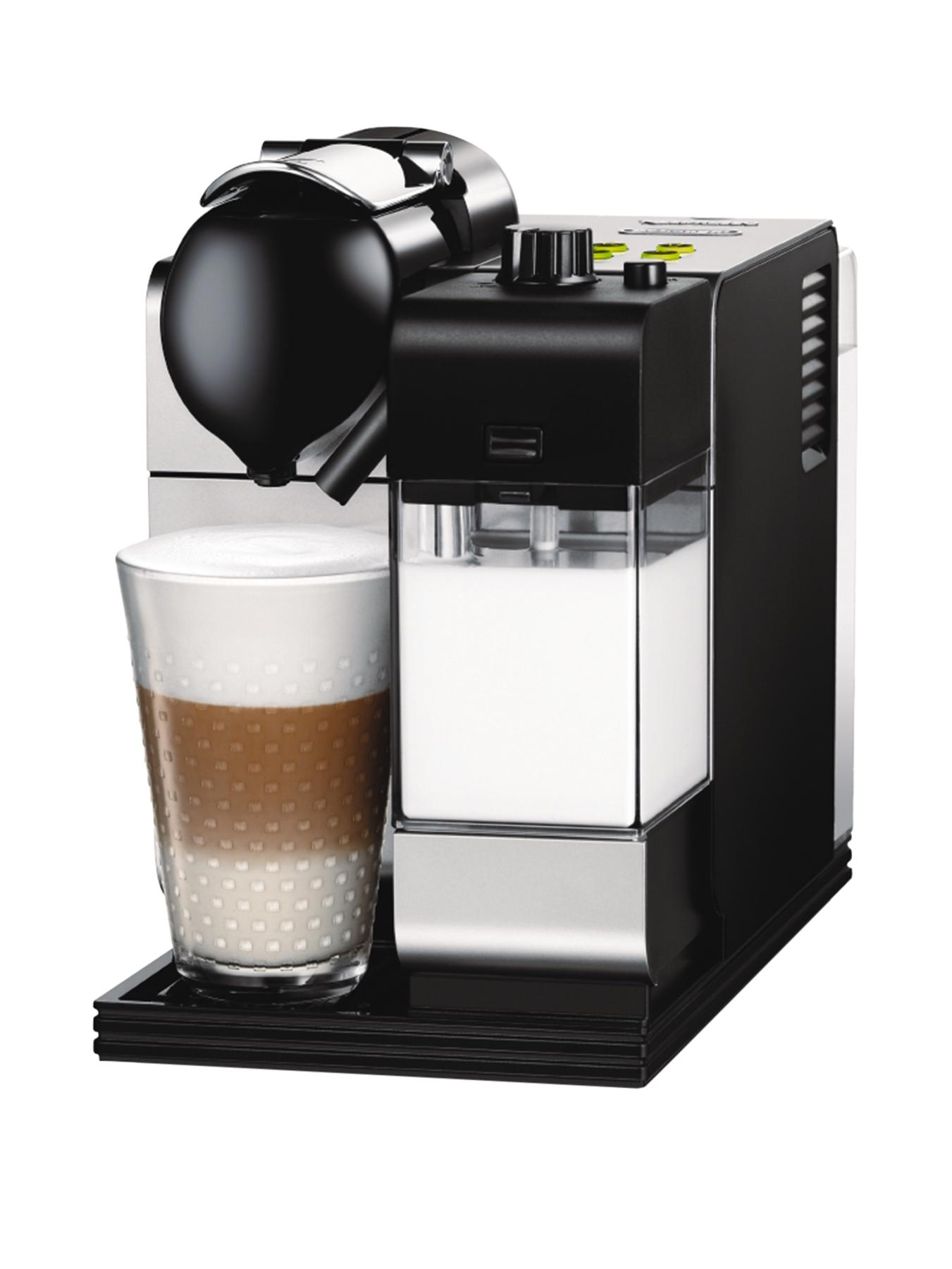 EN520S Nespresso Lattissima Coffee Machine - Silver