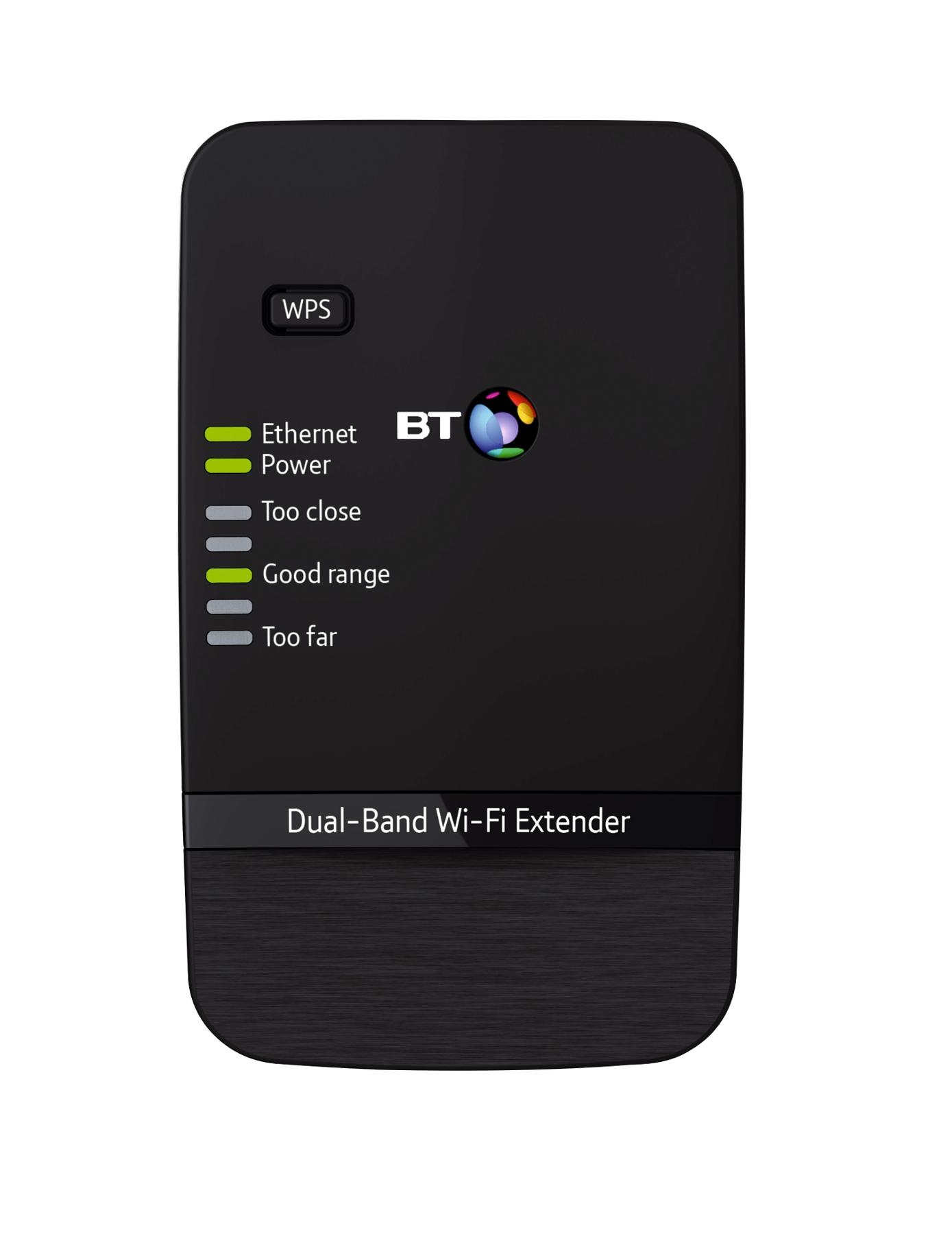 Dual-Band Wi-Fi Extender 600 - Black