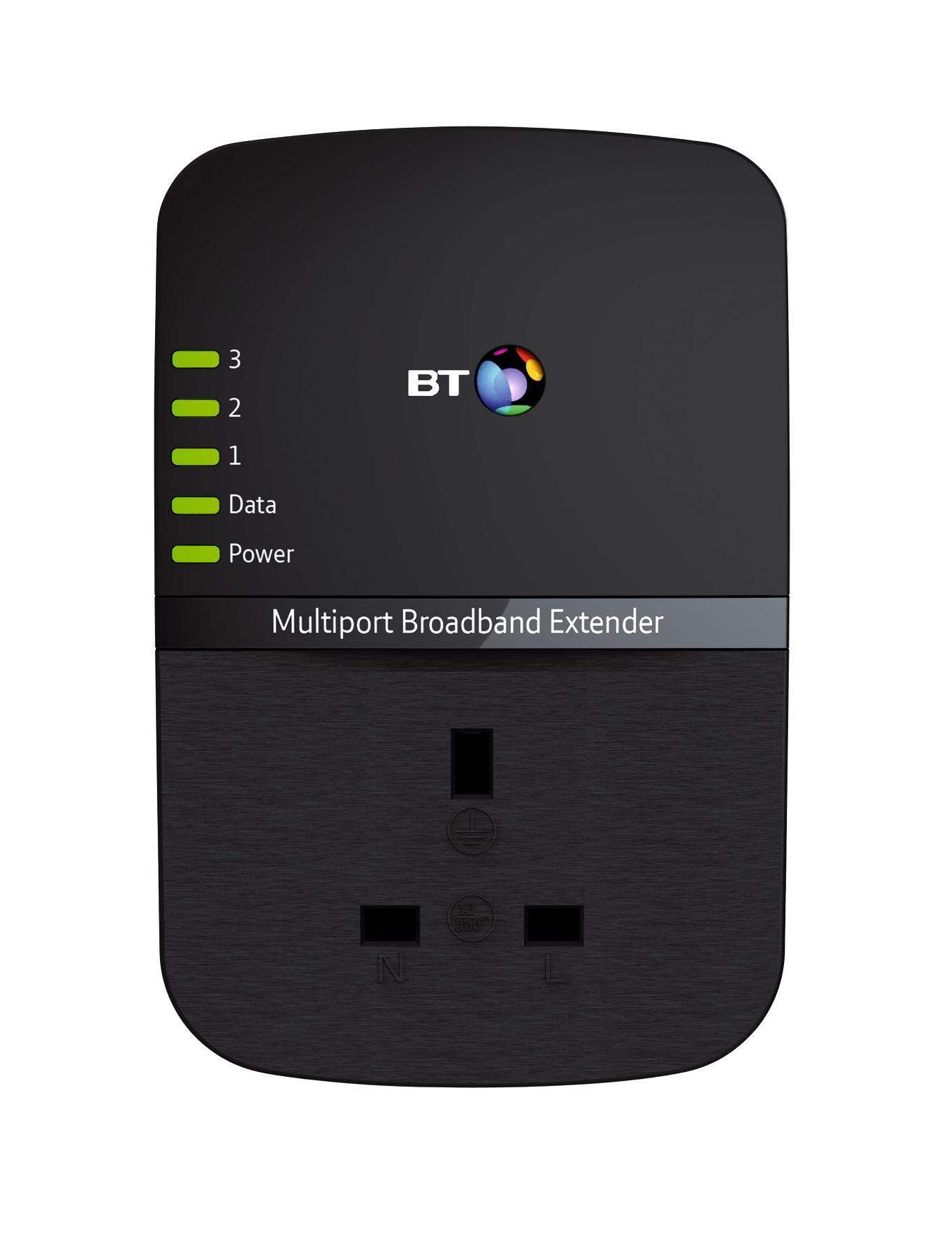 Multiport Broadband Extender 500 Add-on - Black