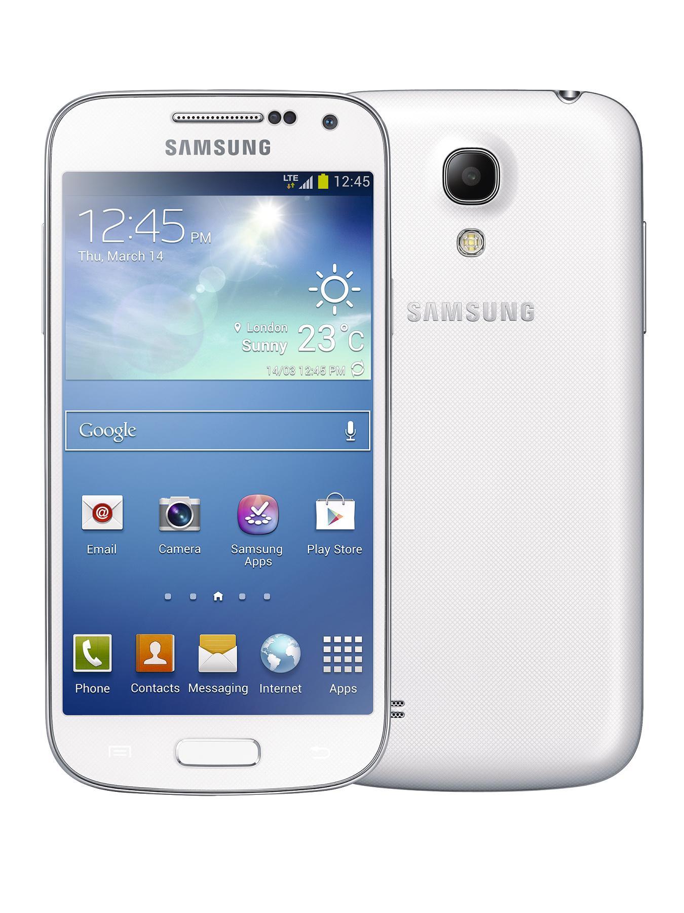 Galaxy S4 Mini 4.3 inch Smartphone - White Frost, White