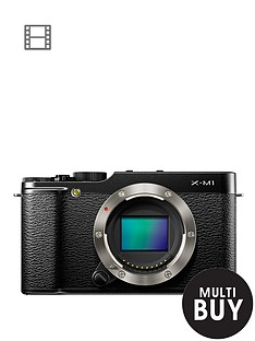 fuji-x-m1-163-megapixel-camera-body-only