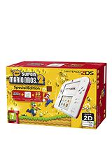 2DS White and Red Console