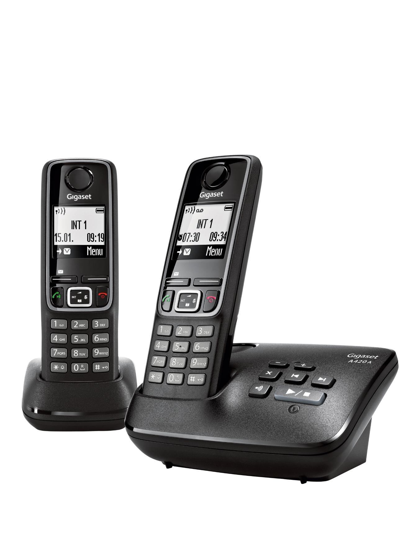 A420A Duo DECT Cordless Phone