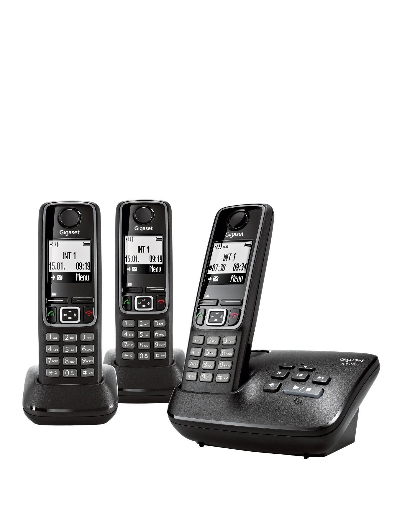 A420A Trio DECT Cordless Phone