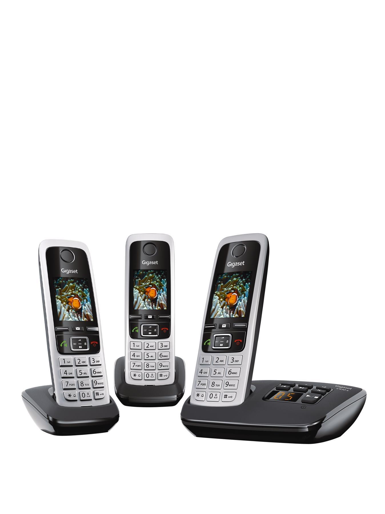 C430A Trio DECT Cordless Phone