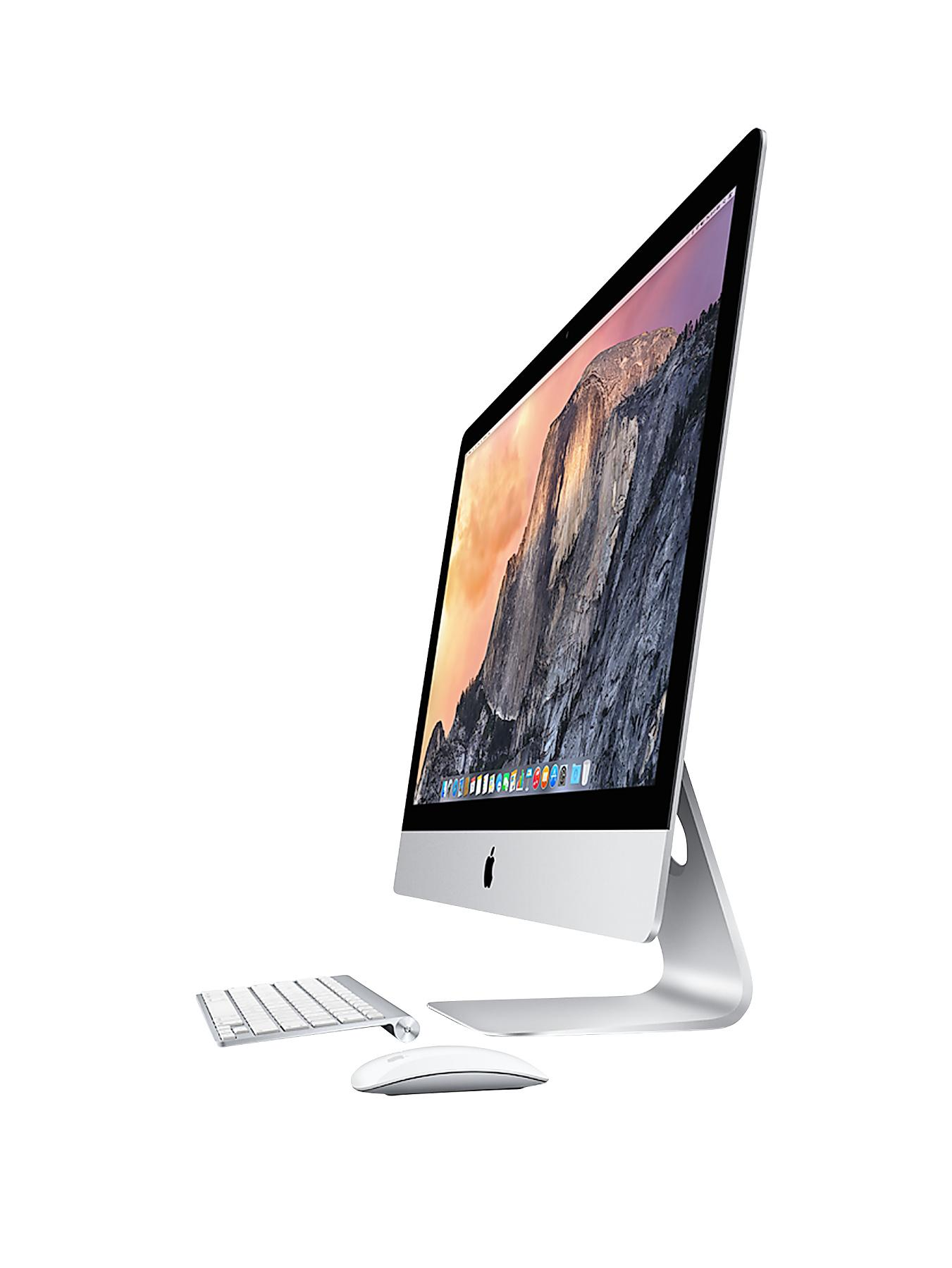 iMac ME087B/A Intel Core i5 Processor, 8Gb RAM, 1Tb Hard Drive, 21.5 inch and Optional Microsoft Office 365 Home Premium - Silver