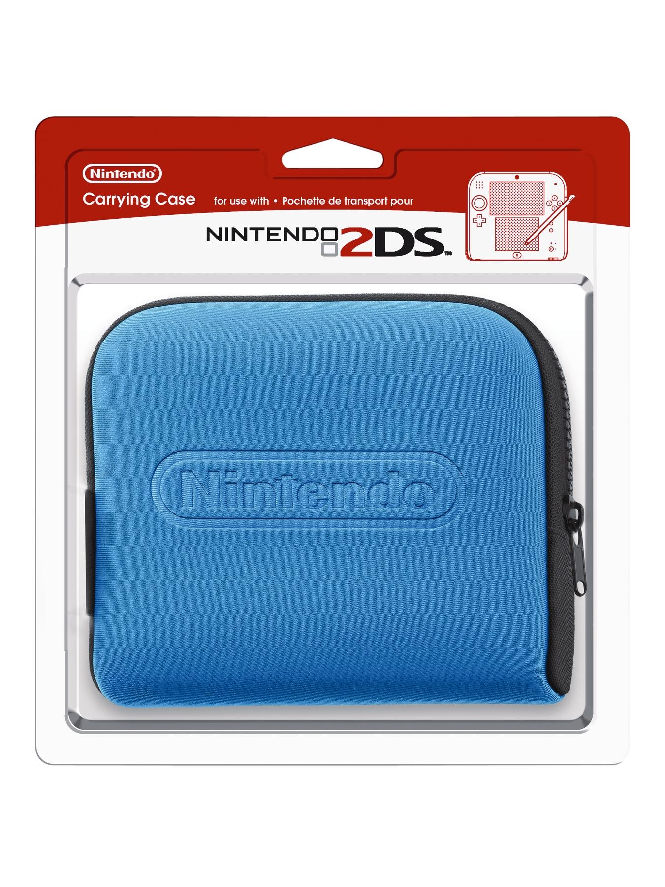 2DS Carrying Case - Blue.