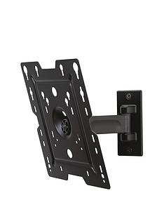 peerless-av-tv-wall-mount-pivot-black-22-37-inch