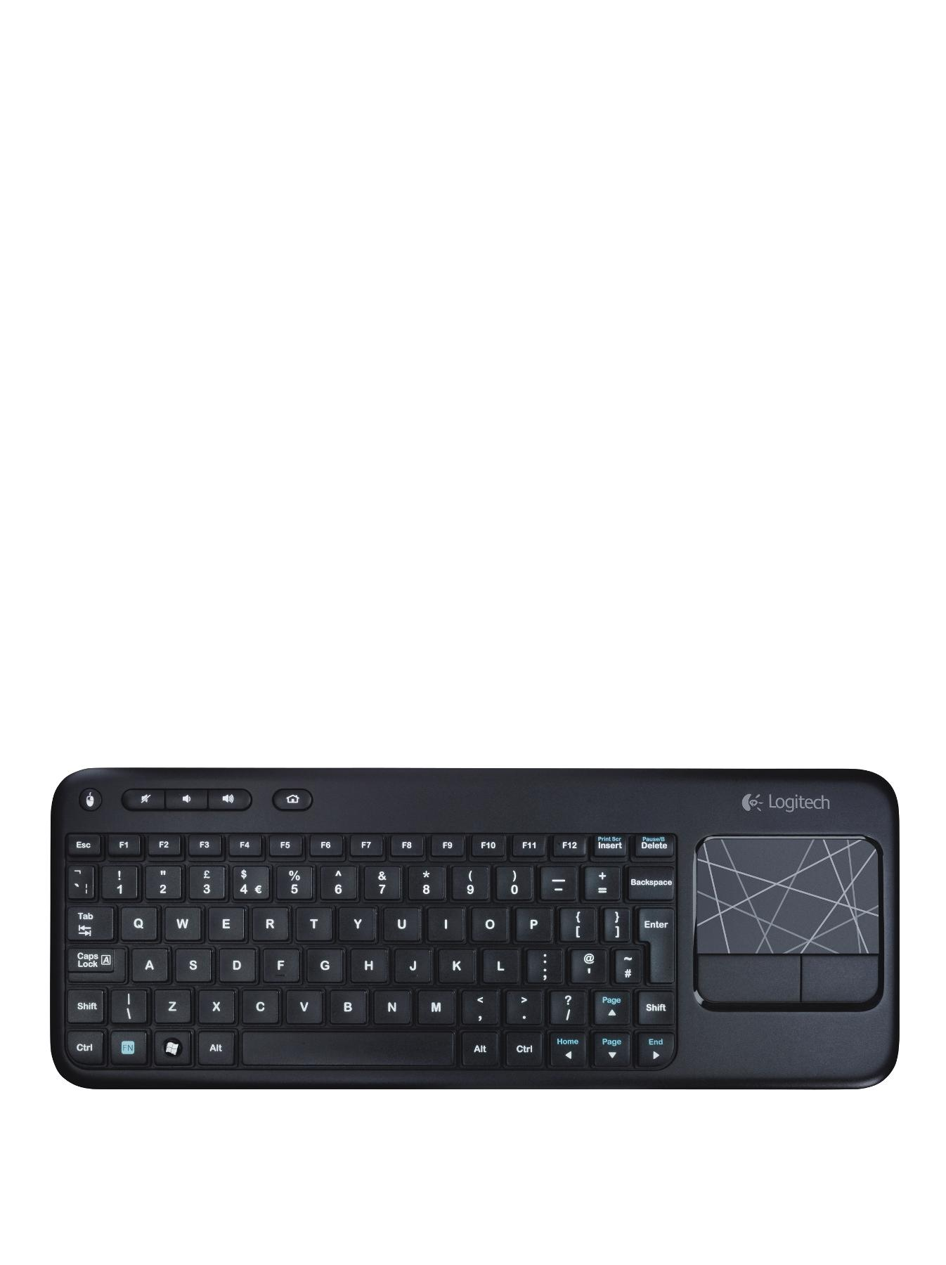 K400 Wireless Touch Keyboard