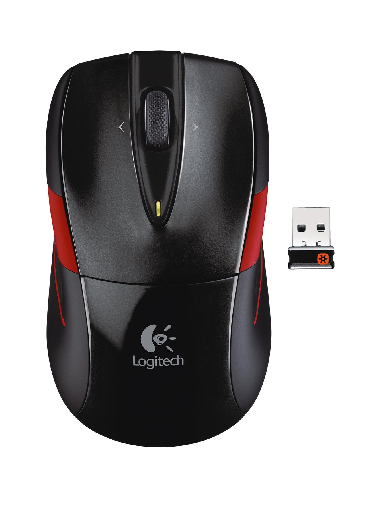 M525 Wireless Mouse - Black