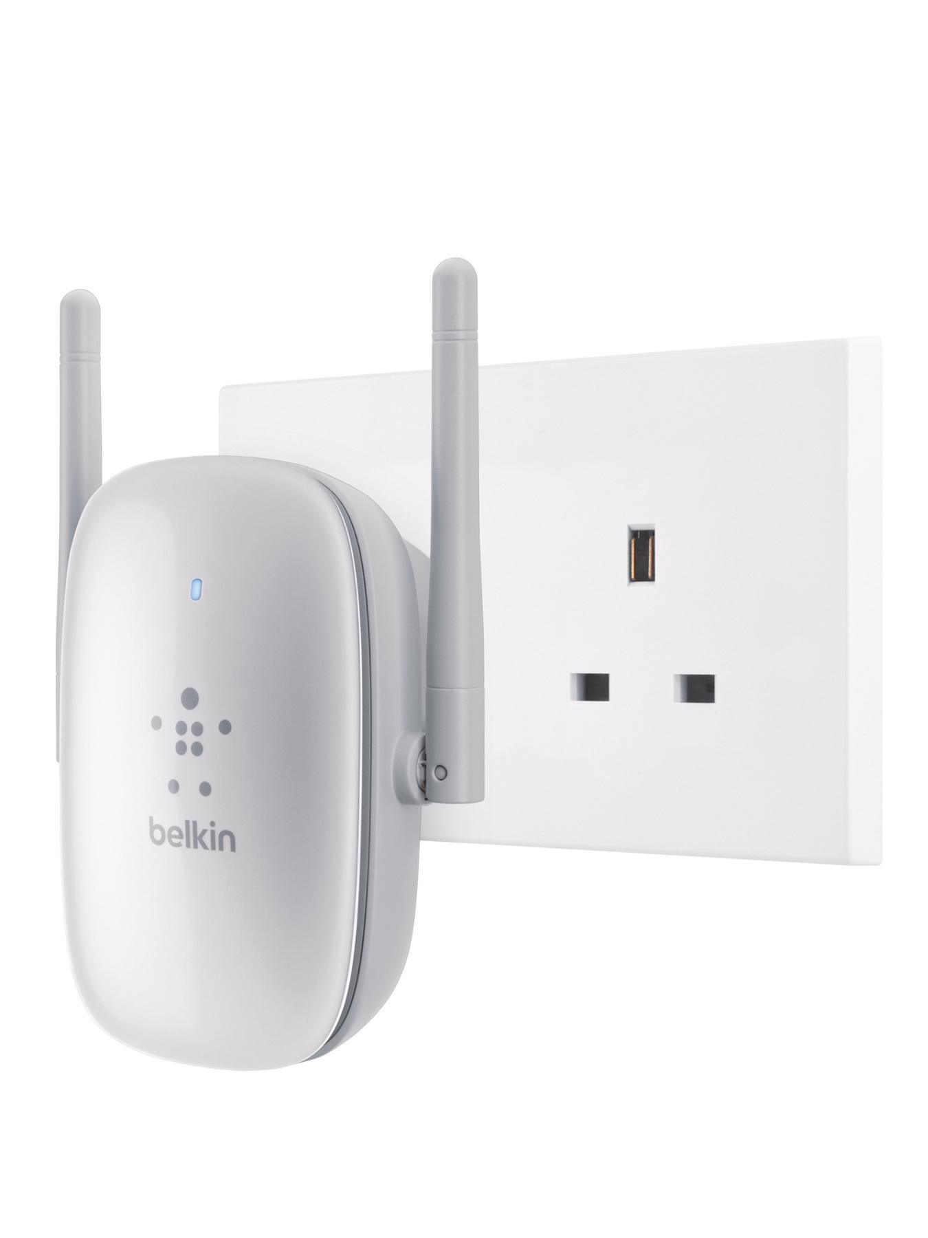 Wireless Dual- Band Wi-Fi Range Extender N600 (Wall Mounted)