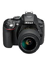 D5300 24.2 Megapixel Digital SLR Camera with 18-55mm Lens